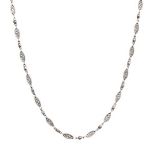 """Picture of Nickel-Free Silver Natalie Chain: 16-19"""""""
