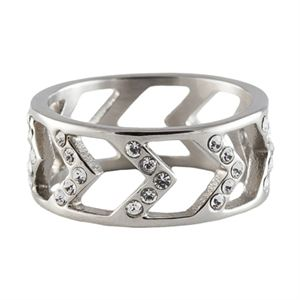 Picture of Silver Chevron Ring - Size 9